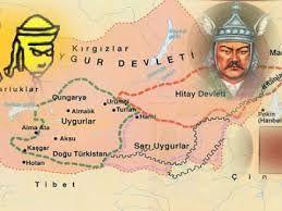 Kutluk Kül Bilge Kağan'ın Uygur Devleti'nden Çin sömürgesi altında ismi değiştirilen ülkeye